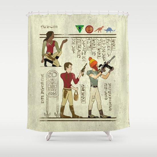 Hero-glyphics: Browncoats Shower Curtain