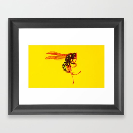 Bugged #02 Framed Art Print