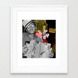 the new negro has no fear Framed Art Print
