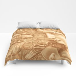 Golden angel Comforters