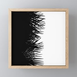 Side Fringe Framed Mini Art Print
