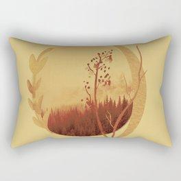 Terra di siena bruciata Rectangular Pillow