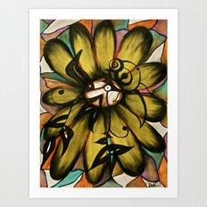 Let The Sunshine In (Sunflower) Art Print