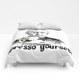 Espresso yourself! Comforters
