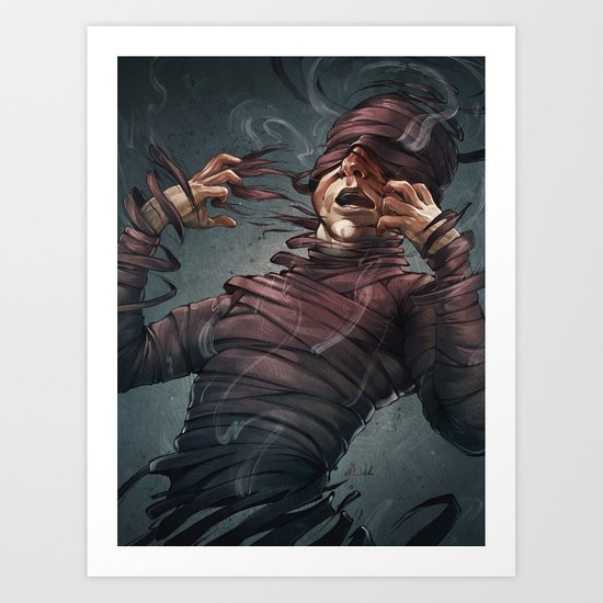 Changes in the Tide Art Print