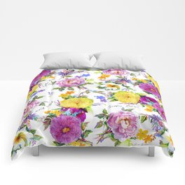 Gather Roses Comforters