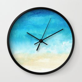 Ocean View Wall Clock
