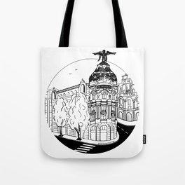 Memories of Madrid Tote Bag
