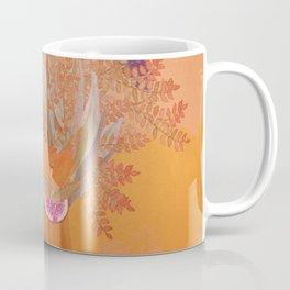 Woman in flowers III Coffee Mug
