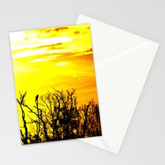 lonely crow Stationery Cards