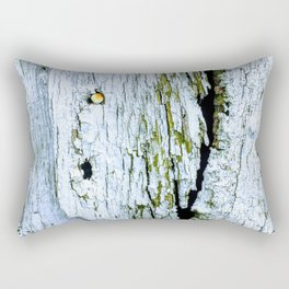 Weathered Barn Wall Wood Texture Rectangular Pillow