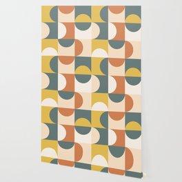 Mid Century Modern Geometric 23 Wallpaper
