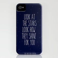 Look How They Shine For You iPhone (4, 4s) Slim Case