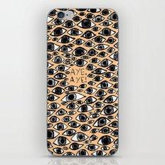AYE AYE iPhone & iPod Skin