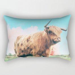 Highland Cow #society6 #decor #buyart Rectangular Pillow