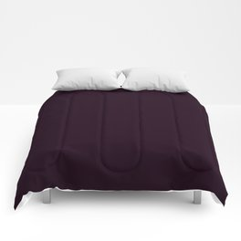 Simply Deep Eggplant Purple Comforters