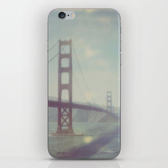 Golden Gate - Polaroid iPhone & iPod Skin