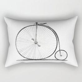 Penny-farthing. Rectangular Pillow