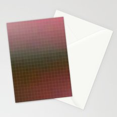 Pixels Pink & Green Stationery Cards