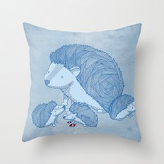 When he was young Throw Pillow