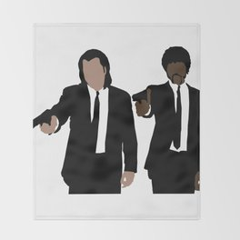 Pulp Fiction Throw Blanket