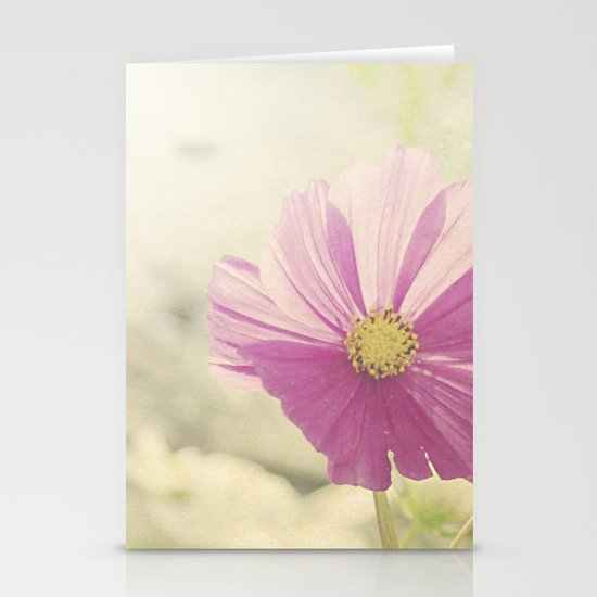 Vintage Cosmos in the Sun Stationery Cards