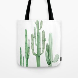 Three Amigos White + Green by Nature Magick Tote Bag