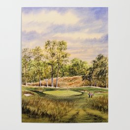 Merion Golf Course 17th Hole Poster