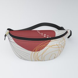 modern abstract VI Fanny Pack