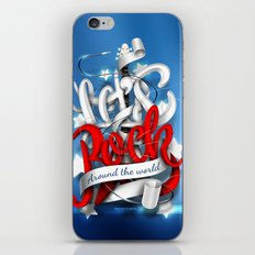 Let's Rock Around The World iPhone & iPod Skin