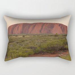 Sunset at Uluru Rectangular Pillow