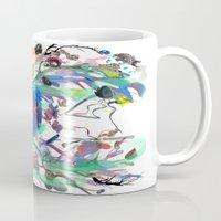 archan nair Mugs featuring Seventh Sense by Archan Nair