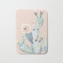 Desert Rose Cactus Pink Bath Mat