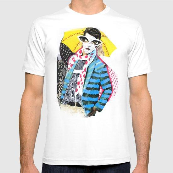 ::Man in the Rain:: T-shirt