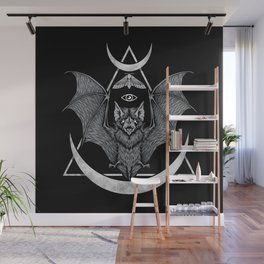 Occult Bat Wall Mural