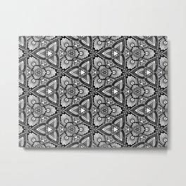 Mesmeric Patterns Metal Print