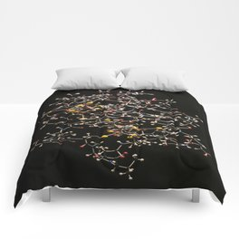 Atoms of Science Photograph Comforters