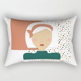 Jungle Gal Rectangular Pillow