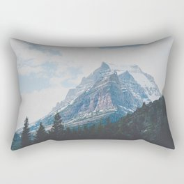 Crown of the Continent Rectangular Pillow