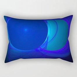 Evolution in deep space Rectangular Pillow