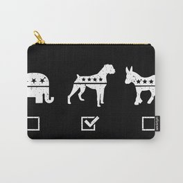 VOTE BOXER Carry-All Pouch