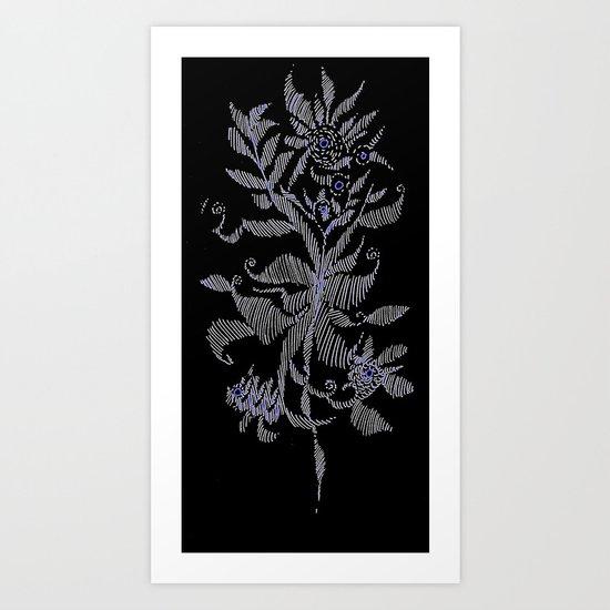 exotic plant Art Print