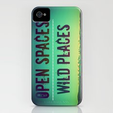 Open Spaces Wild Places Slim Case iPhone (4, 4s)
