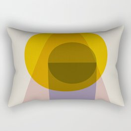 Amber Spotlight Print Rectangular Pillow