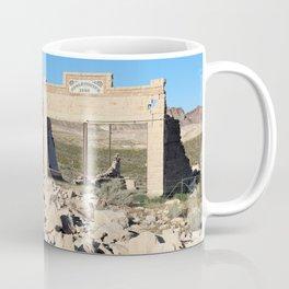 Ruins at Rhyolite Ghost Town, Nevada Coffee Mug