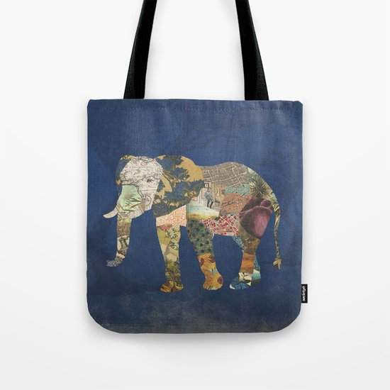 Elephant - The Memories of an Elephant Tote Bag