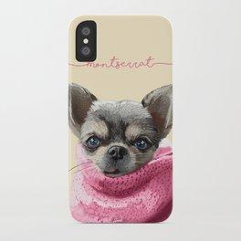 Montserrat Pet iPhone Case