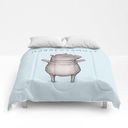 Hugapotamus? Comforters
