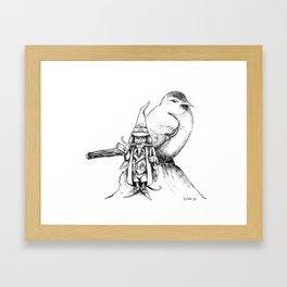 The Bird Post Framed Art Print