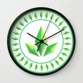 The Sims Plumbob Emblem Wall Clock